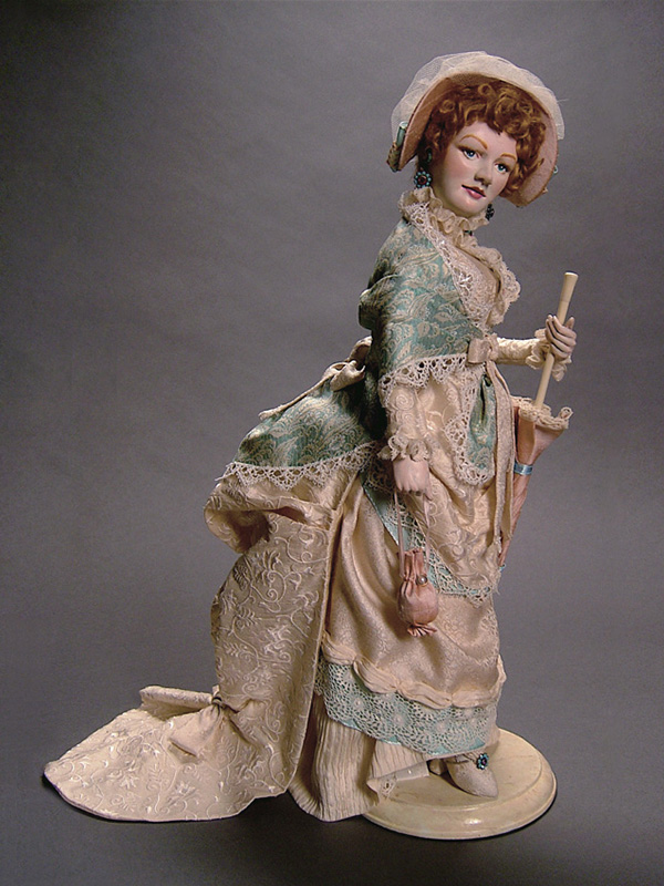 Miss Lucy Leyendecker Goes Shopping 2005 Polymer