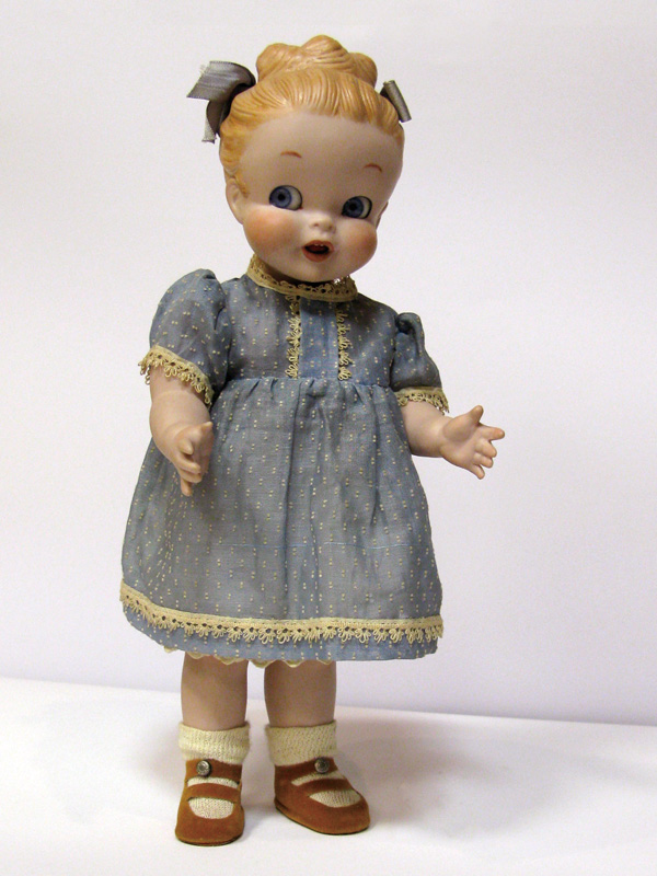 Lovely Little Girl Porcelain