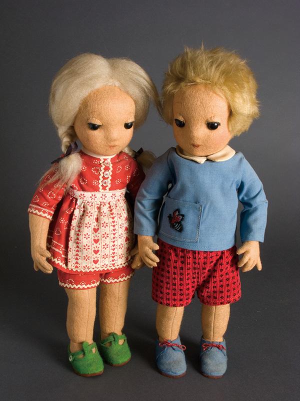 Hansel & Gretel 1972 Felt