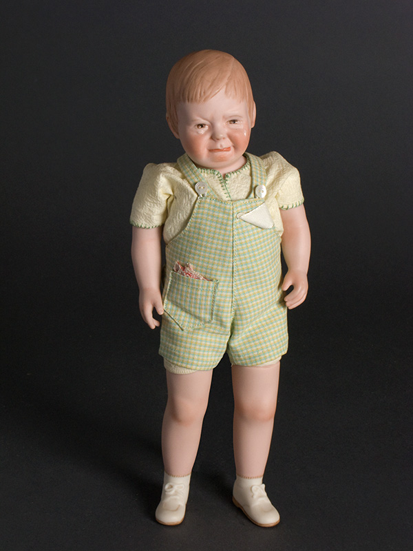 Cry Baby 1970 Bisque head, arms & legs.Soft body