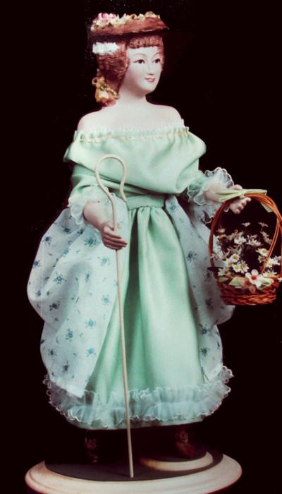 A Shepherdess of the Flowers - Diana Lence Crosby