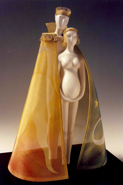 "17"" high, Paperclay, 2000"