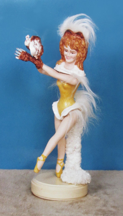Ballerina Deborah Dancing to the Music of Cats - Diana Lence Crosby