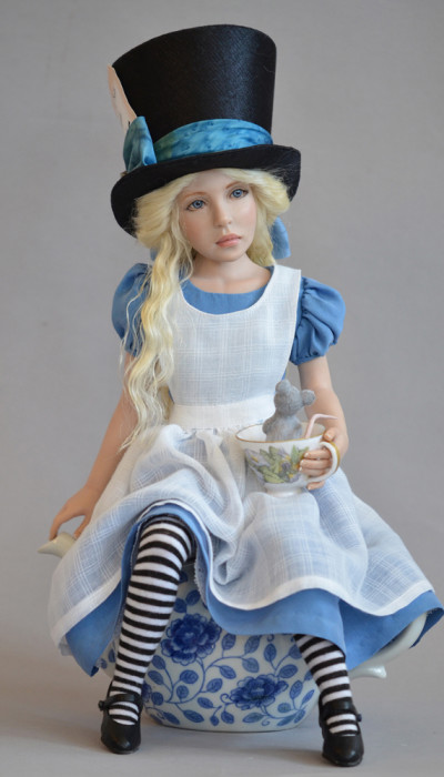 Alice at the Tea Party - Diane Keeler