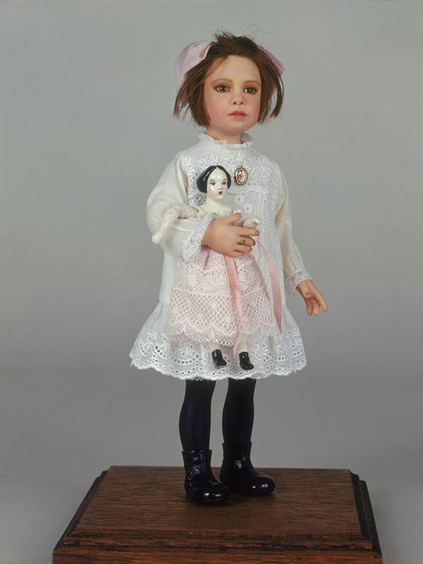 Cora Mae Sanborn 1912 Polymer clay