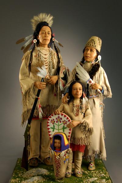 Nez Perce Family - Jodi-Richard Creager