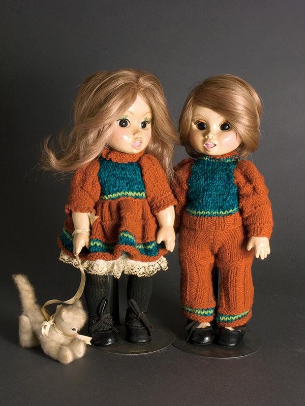 Kim  & Lynn 1973 Porcelain