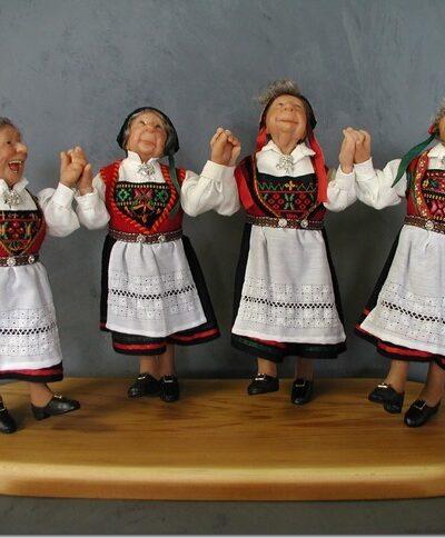 Norwegian Dancers - Annie Wahl