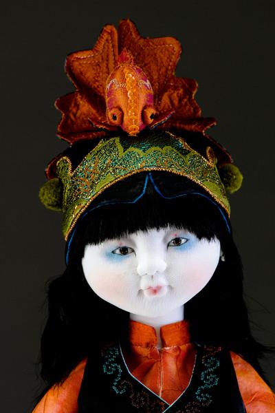 Goldfish Story Hat (closeup) - Leslie O'Leary
