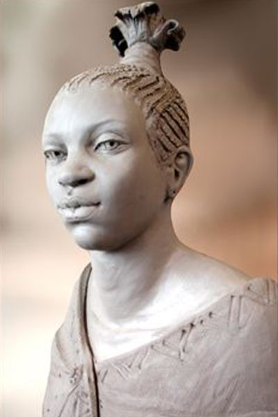 Portrait bust (life Sized) - Luella Mossom