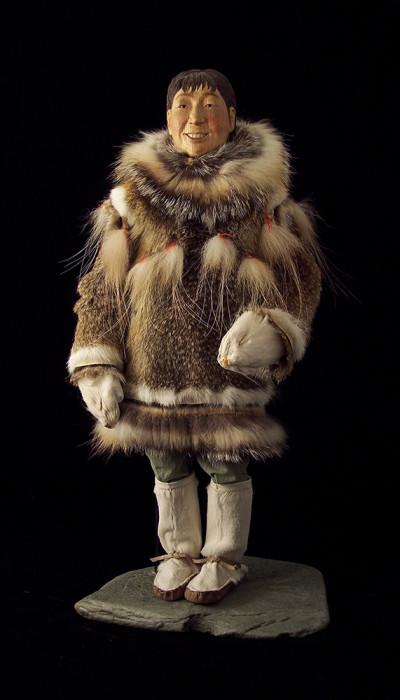 Shanlee, Yup'ik Eskimo & devoted mother - Mary Ellen Frank