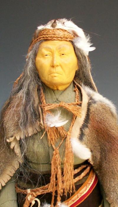 Tsimshian Shaman (closeup) - Mary Ellen Frank