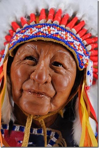 Native American Elder - Annie Wahl
