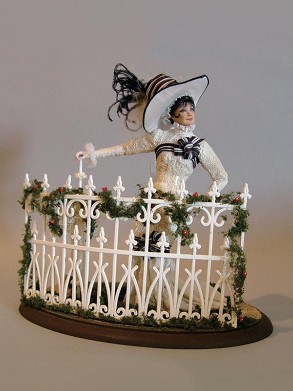 Audrey Hepburn Ascot Scene 1982 Porcelain