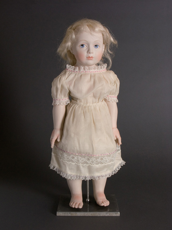 Theresa Tonti - First Girl Born in Detroit Porcelain, cloth body