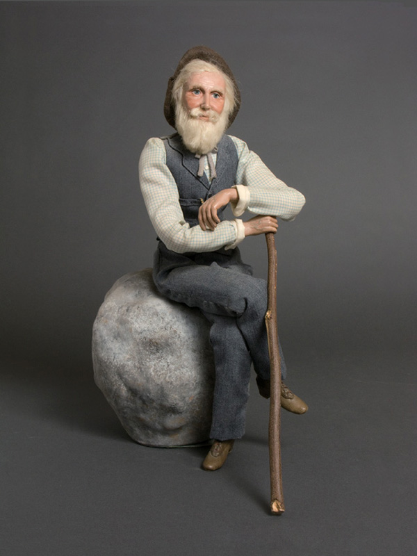 John Muir Porcelain with cloth body