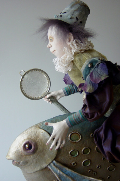 "20"" high, Porcelain, 2003"