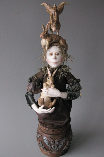 "18"" high, Porcelain, 2009"