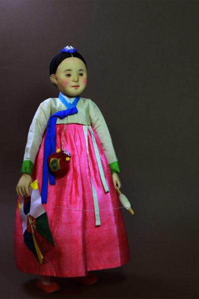 Yeong With Korean Traditional Bangpae Kite - Moonyoung Jeong