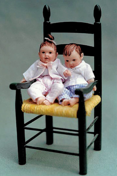 Babies in a Chair - Susan Scogin