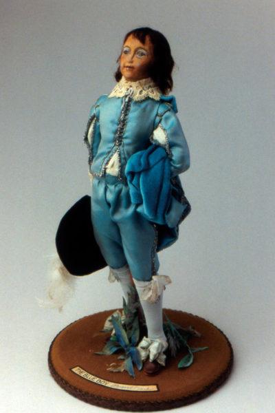 The Blue Boy-Margaret Finch