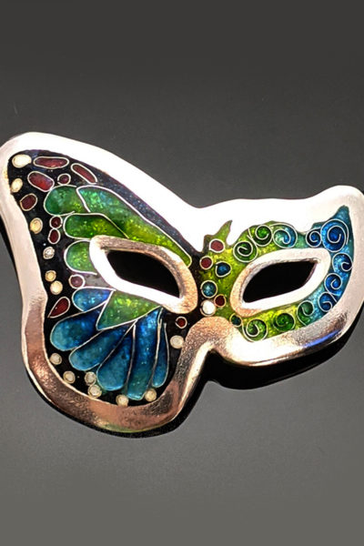 Mask-Diane Keeler-BUTTERFLY MASK