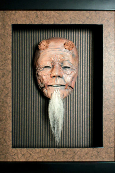 Mask-JRCreager-JAPANESE NOH MASK