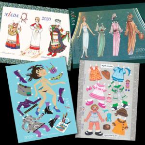 NIADA Paper Dolls
